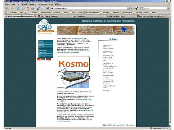 Web Kosmo